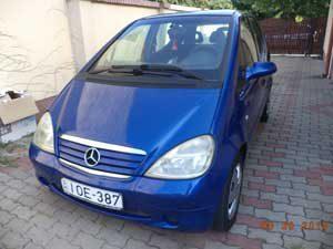 Mercedes-A bérlés